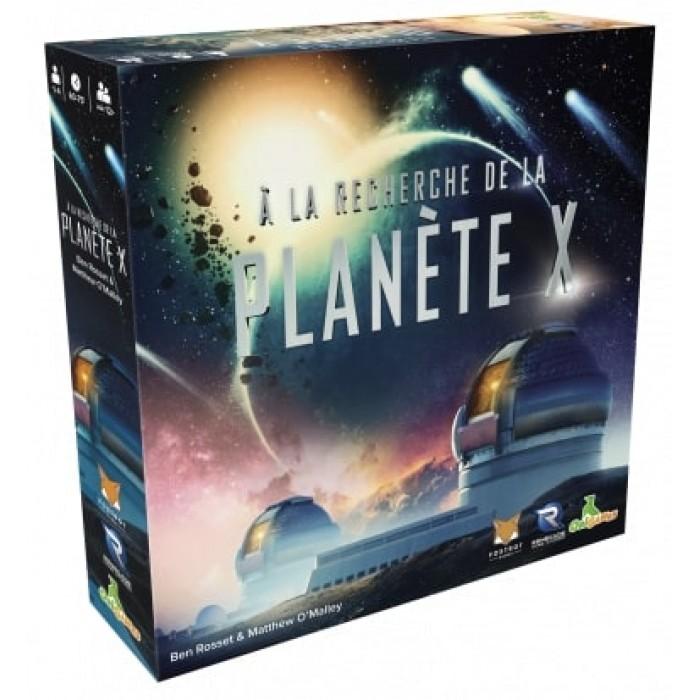 A la recherche de la planète X est un jeu de stratégie avec un mode solo et quatre niveaux de difficulté pour 12 ans et plus de 1 à 4 joueurs - Franc Jeu Repentigny