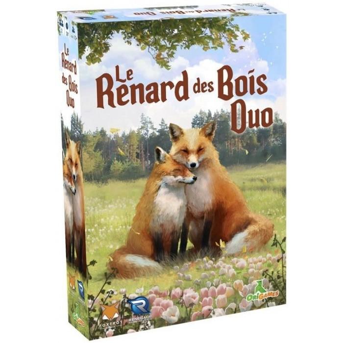 Renard des bois est un jeu coopératif pour 2 joueurs à partir de 10 ans et plus - Franc Jeu Repentigny