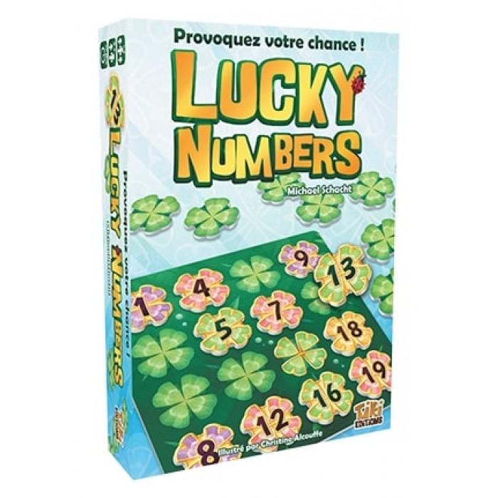 Lucky Numbers est un jeu de d'organisation de tuiles de 1 à 4 joueurs pour 8 ans et plus - Franc Jeu Repentigny