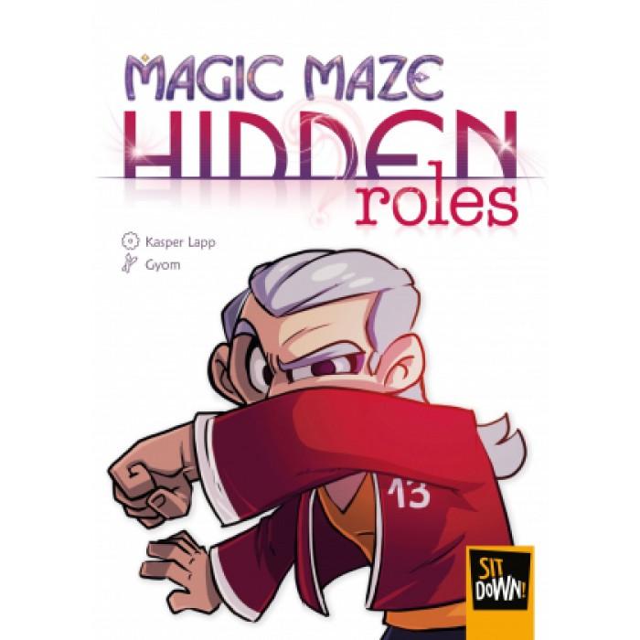 Magic Maze (Fr):Hidden Roles est l'extension du jeu Magic Maze - Franc Jeu Repentigny