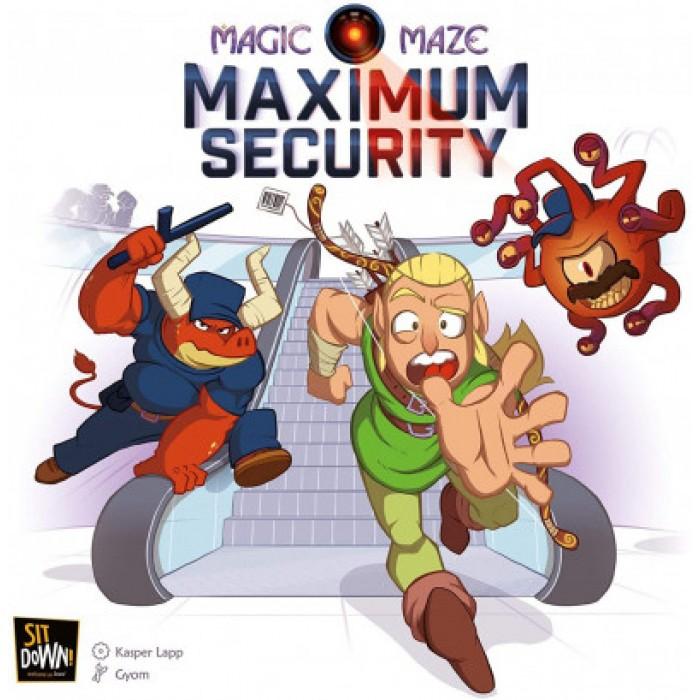 Magic Maze (Fr): Maximum Security est l'extension du jeu Magic Maze - Franc Jeu Repentigny