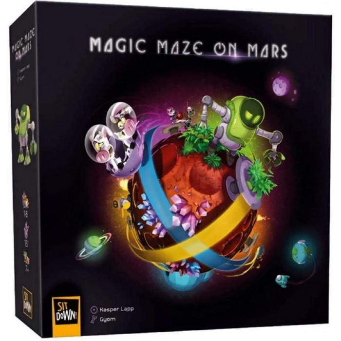 Magic Maze on Mars (Fr)est un jeu coopératif de 1 à 8 joueurs pour 8 ans et plus - Franc Jeu Repentigny