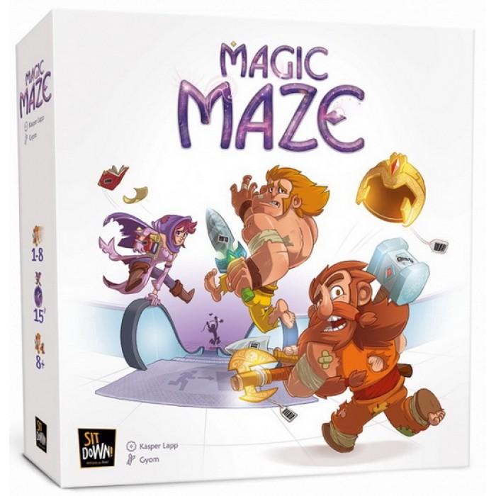 Magic Maze est un jeu coopératif de 1 à 8 joueurs pour 8 ans et plus - Franc Jeu Repentigny