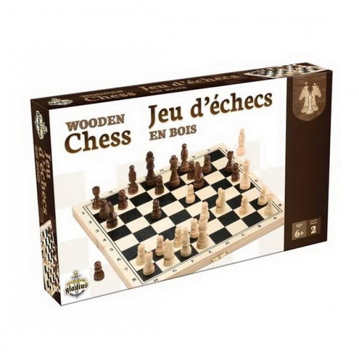 Ensemble 3 en 1: Backgammon, jeu d'échecs et jeu de dames trois grands jeux de stratégies en un seul coffret pour les petits et les grands - Franc Jeu Repentigny