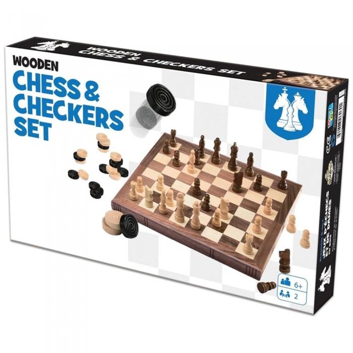 Jeu d'échecs et de Dames deuxdes grands classique des jeux deux joueurs - Franc Jeu Repentigny