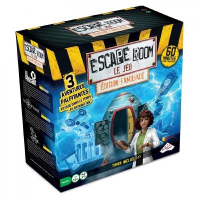 Escape Room le Jeu: Voyage dans le tempsest un jeu d'évasion coopératif pour 10ans et plus - Franc Jeu Repentigny