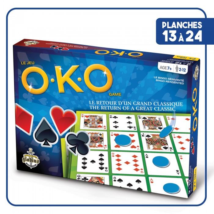 OKO Juniorest un jeu très simple a jouer en groupe à partir de 7 ans et plus - Franc Jeu Repentigny