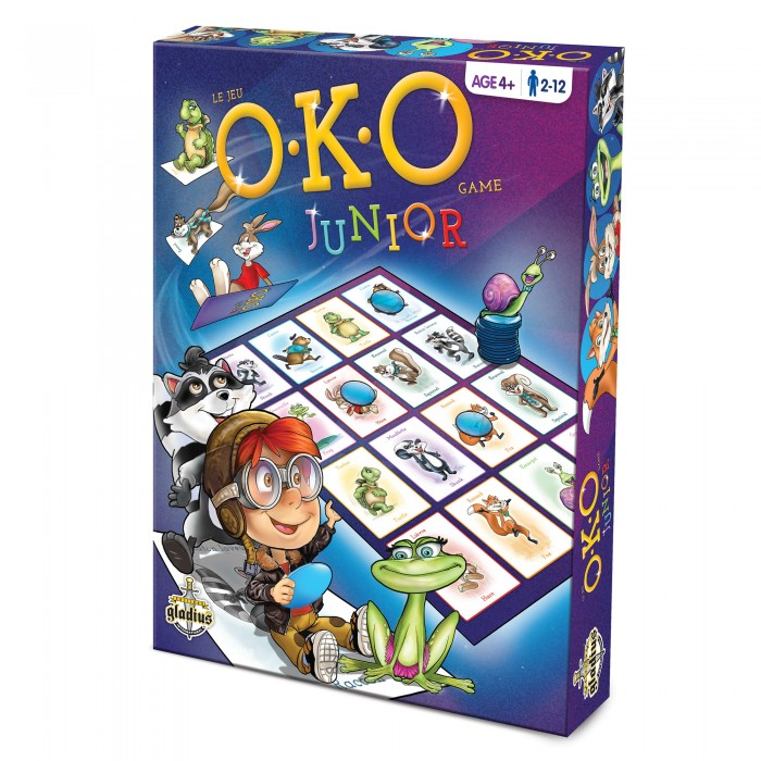 OKO Juniorest un jeu très simple pour la famille pour les enfants de 4 ans et plus - Franc Jeu Repentigny