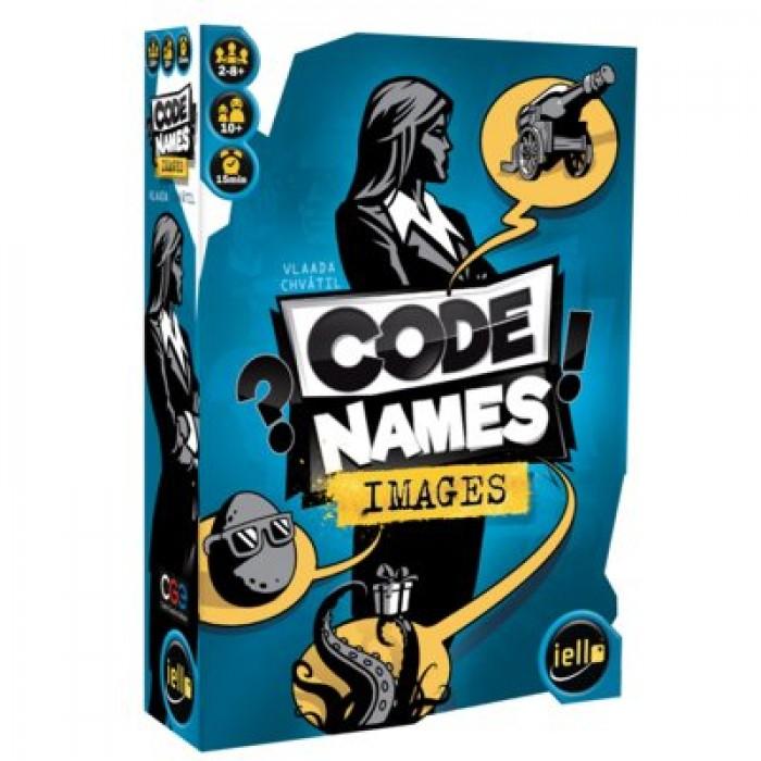 Codenames images est un jeu d'équipes d'identification de code pour 8 ans et plus