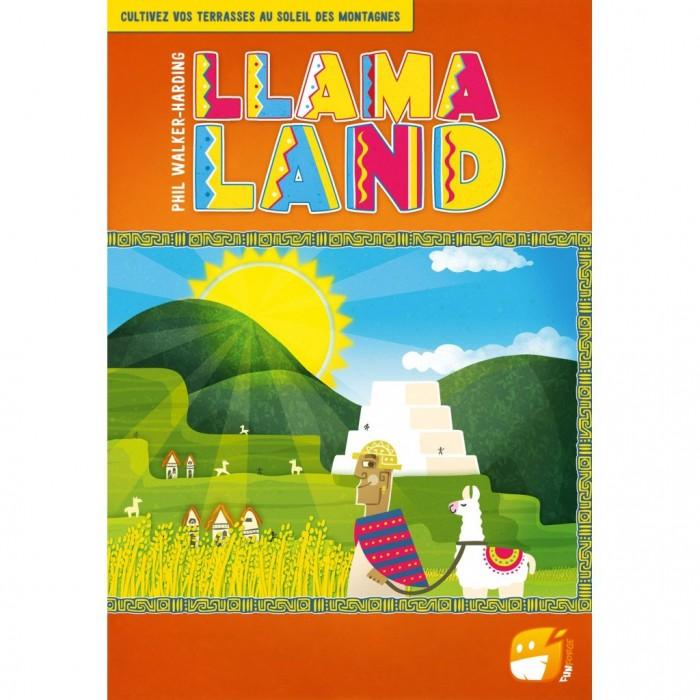 Llama Land est un jeu où l'on doit faire notre ferme de Llama de 2 à 4 joueurs pour 10 ans et plus - Franc Jeu Repentigny
