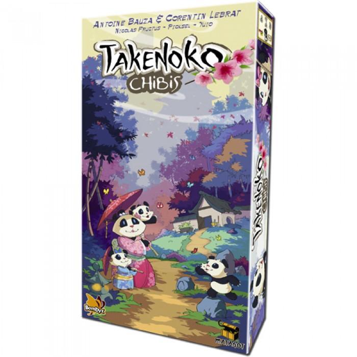 Takenoko: Chibis est l'extension du jeu Takenokode 2 à 4 joueurs de 8 ans et plus - Franc Jeu Repentigny