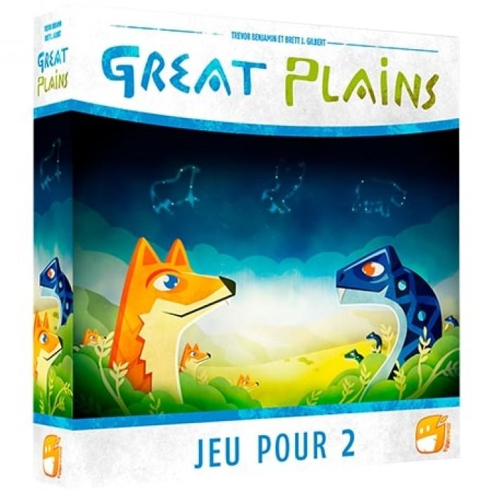 Great Plains, un jeu de société pour deux joueurs de 10 ans + - Franc Jeu Repentigny