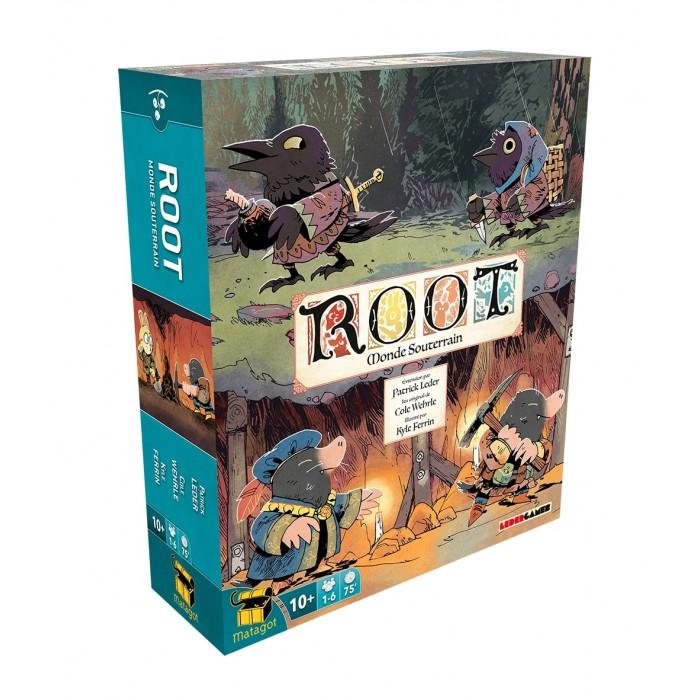 Root: Monde Souterrain est l'extesion du jeu Root + Extension de1 à 6 joueurs pour 10 ans et plus - Franc Jeu Repentigny