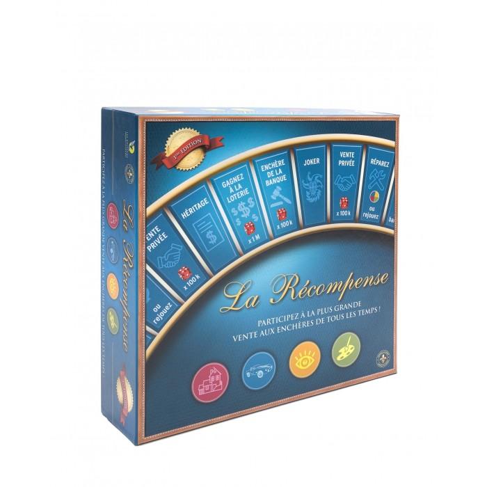 jeu d'enchères La Récompense de 3 à 6 joueurs à partir de 8 ans Franc Jeu Repentigny