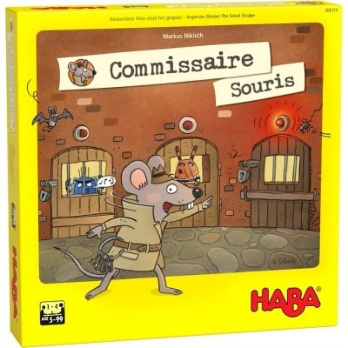 Commissaire Souris est un jeu de mémoire de 1 à 4 joueurs pour 5ans et plus - Franc Jeu Repentigny