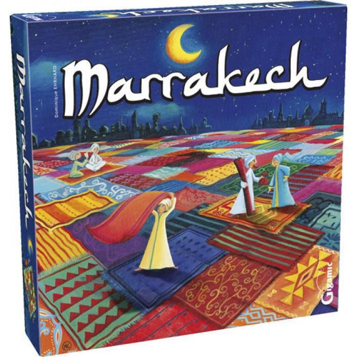 Marrakech, un jeu de société famillial pour 2 à 4 joueurs, à partir de 8 ans - Franc Jeu Repentigny