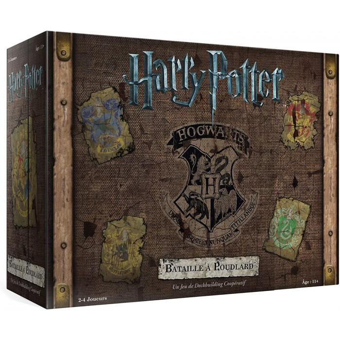 Harry Potter: Bataille à Poudlard est un jeu de deckbuilding coopératif, 2 à 4 joueurs de 11 ans et plus- Franc Jeu Repentigny
