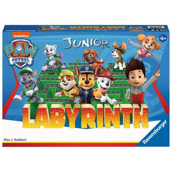 Labyrinth Junior: Pat'Patrouille (Paw Patrol)est jeu d'observation pour enfants, à partir de 4 ans et plus - Franc Jeu Repentigny