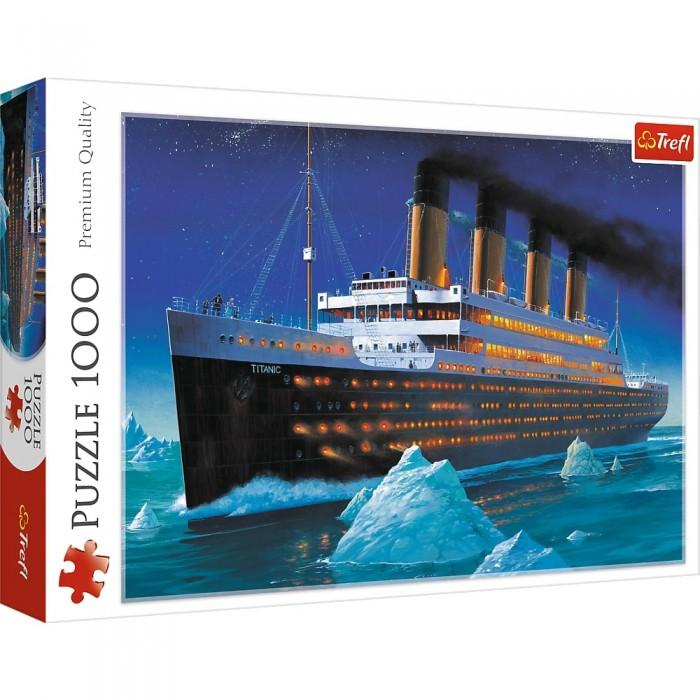 Titanic est un casse-tête Trefl de 1000 morceaux- Franc Jeu Repentigny
