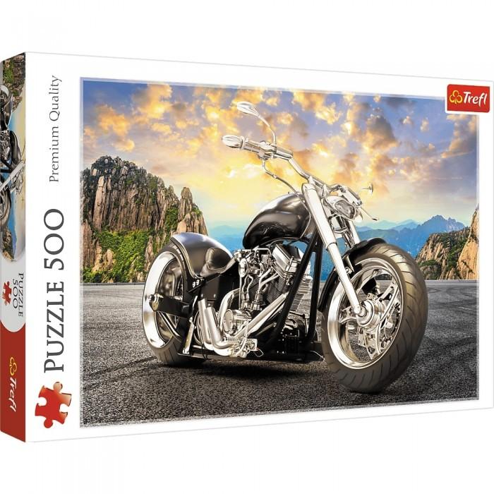 Balade à moto est casse-tête Trefl de 500 pièces - Franc Jeu Repentigny