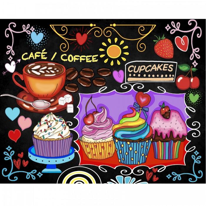 Cupcakes est une peinture de diamants de la compagnie québecoise Jacarou - Franc Jeu Repentigny