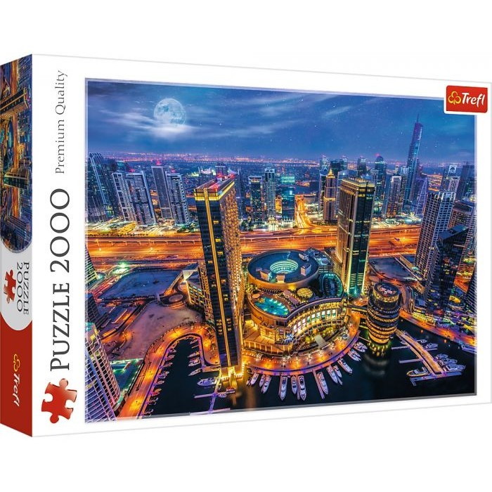 Casse-tête : Lumières de Dubai - 2000 pcs - Trefl