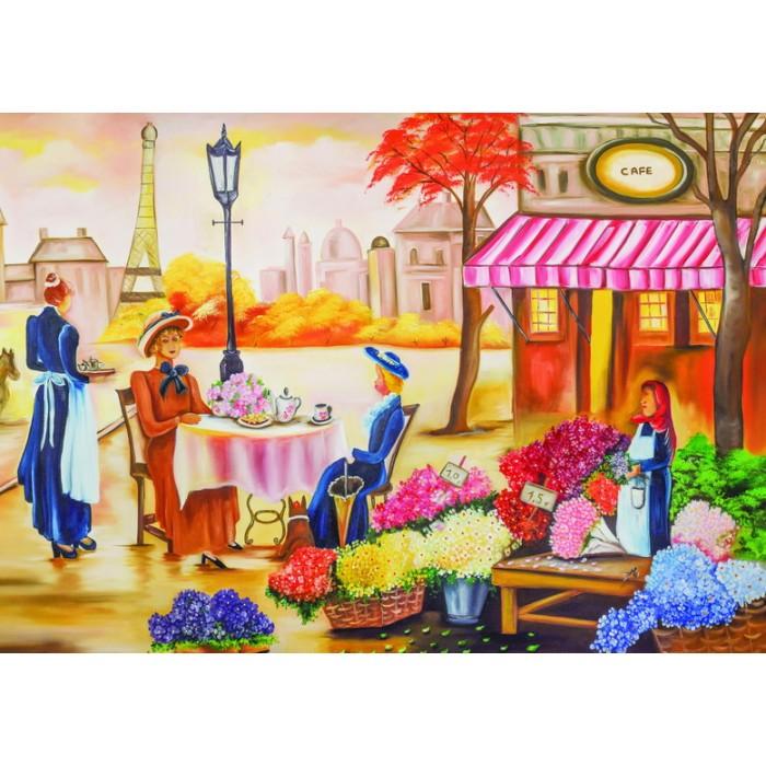 Casse-tête : Thé à Paris - 1000 pcs - Trefl