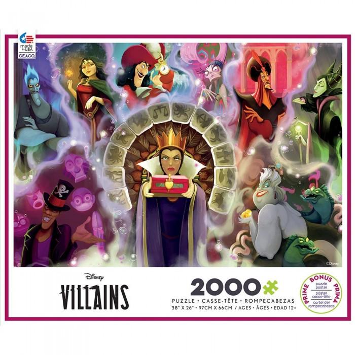 Casse-tête :  Disney Villains 2 - 2000 pcs - Ceaco