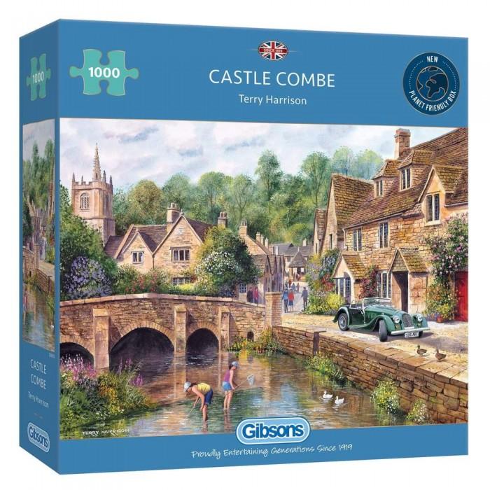 Casse-tête : Castle Combe (T. Harrison) - 1000 pcs - Gibsons