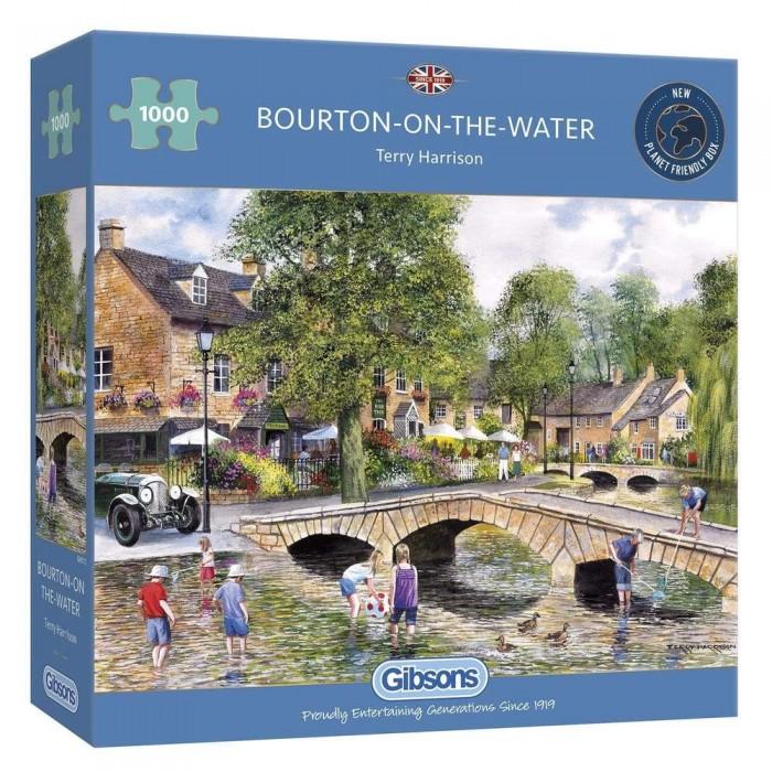 Casse-tête : Bourton on the Water (T. Harrison) - 1000 pcs - Gibsons