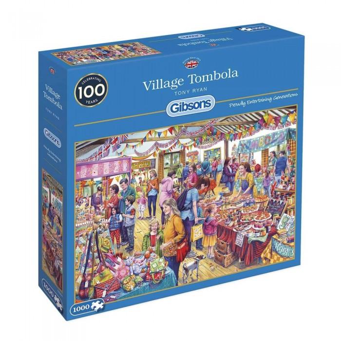Casse-tête : Village Tombola (T. Ryan) - 1000 pcs - Gibsons