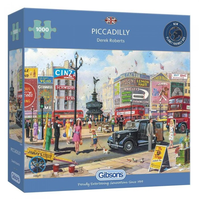 Casse-tête : Piccadilly (D. Roberts) - 1000 pcs - Gibsons