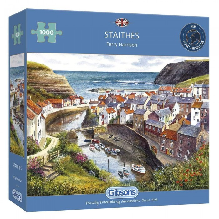 Casse-tête : Staithes (T. Harrison) - 1000 pcs - Gibsons