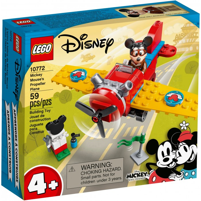 LEGO Disney: L'avion à hélice de Mickey Mouse - 59 pcs