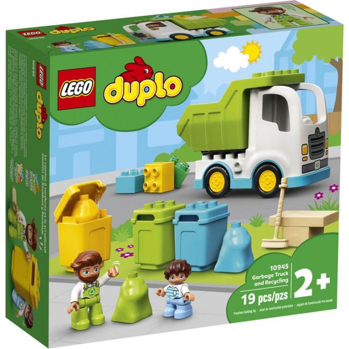 LEGO Duplo: Camion à ordures et recyclage - 19 pcs