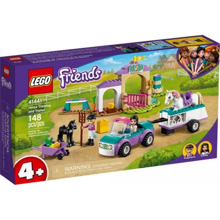 LEGO Friends : Le dressage de chevaux et la remorque - 148 pcs