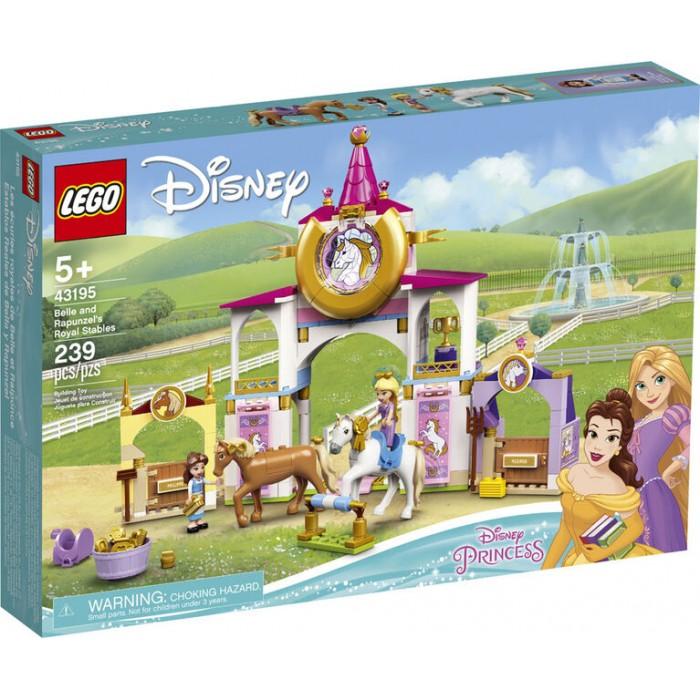 LEGO Disney: Les écuries royales de Belle et Raiponce - 239 pcs