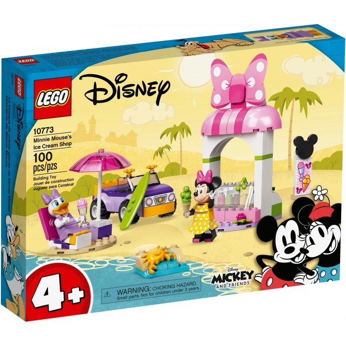 LEGO Disney: Le magasin de glaces de Minnie Mouse - 100 pcs