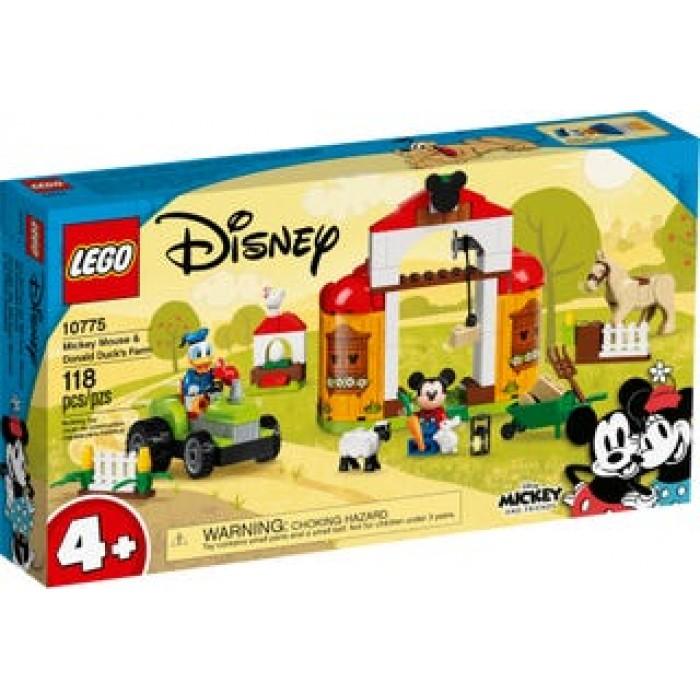 LEGO Disney: La ferme de Mickey Mouse et Donald Duck - 118 pcs