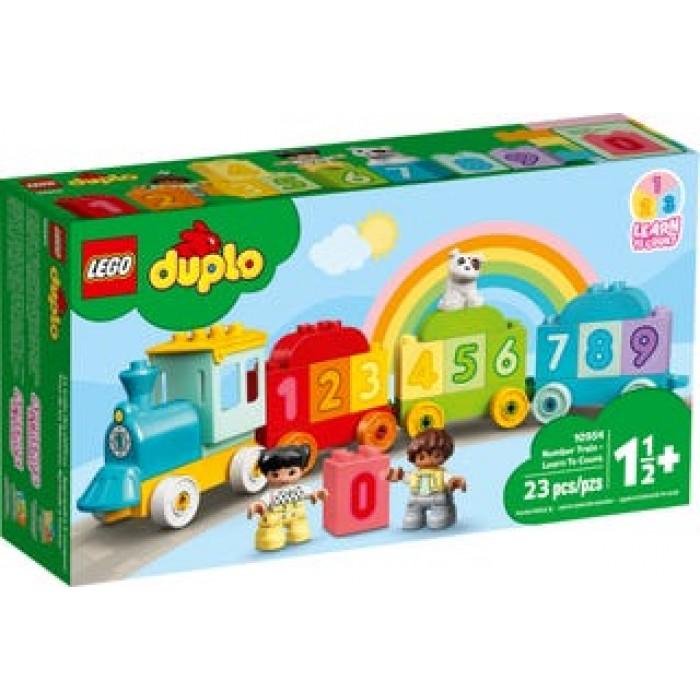 LEGO Duplo : Le train des chiffres - Apprendre à compter - 23 pcs