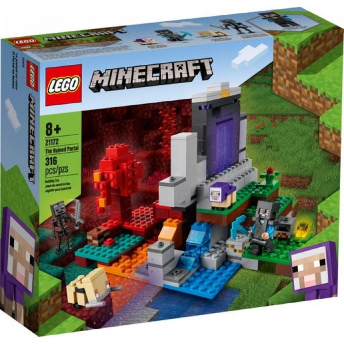 LEGO Minecraft :Le portail en ruine - 316 pcs