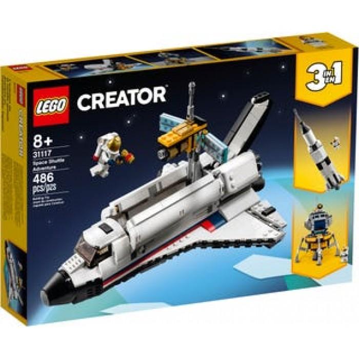 LEGO Creator : L'aventure en navette spatiale - 486 pcs