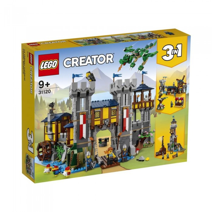 LEGO Creator: Le château médiéval - 1426 pcs