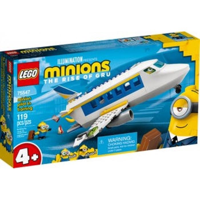 LEGO Minion : La formation du Minion pilote - 119 pcs