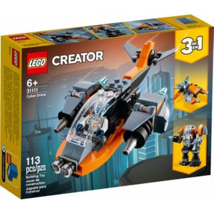 LEGO Creator : Le cyber drone - 113 pcs