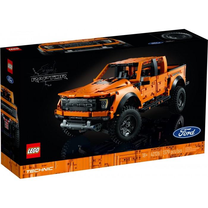 Ensemble Lego Technic de 1379 pièces : Ford f-150 Raptor pour les personnes de 18 ans +