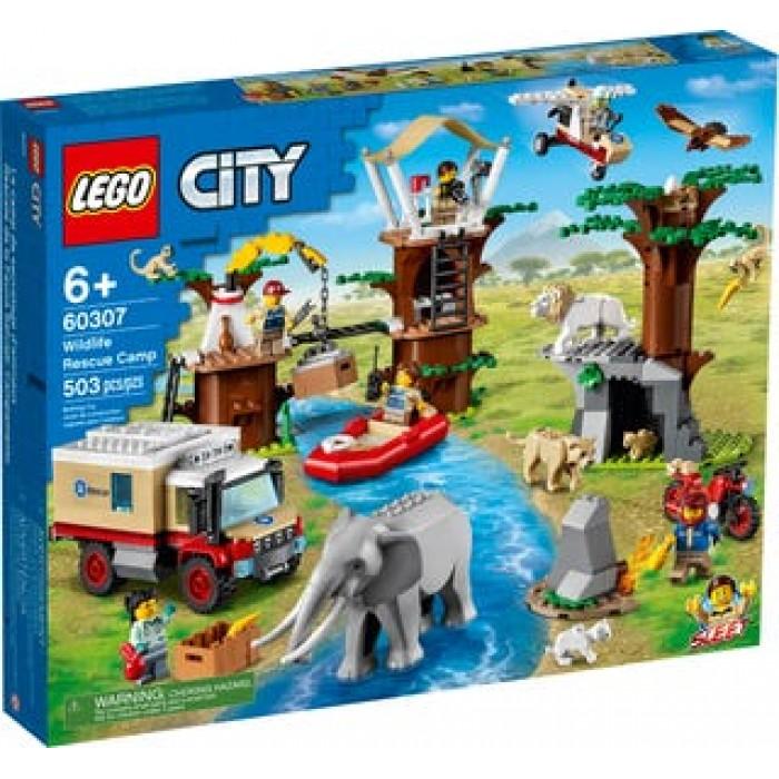 LEGO City: Le camp de sauvetage des animaux sauvages - 503 pcs