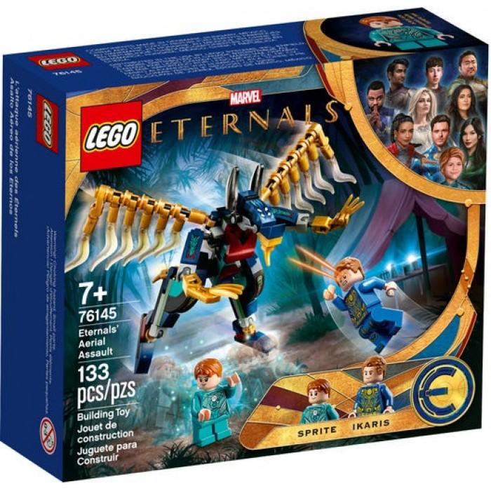 LEGO Marvel : Eternals - L'attaque aérienne des Éternels - 133 pcs