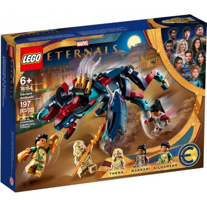 LEGO Marvel : Eternals - L'embuscade du Déviant! - 197 pcs