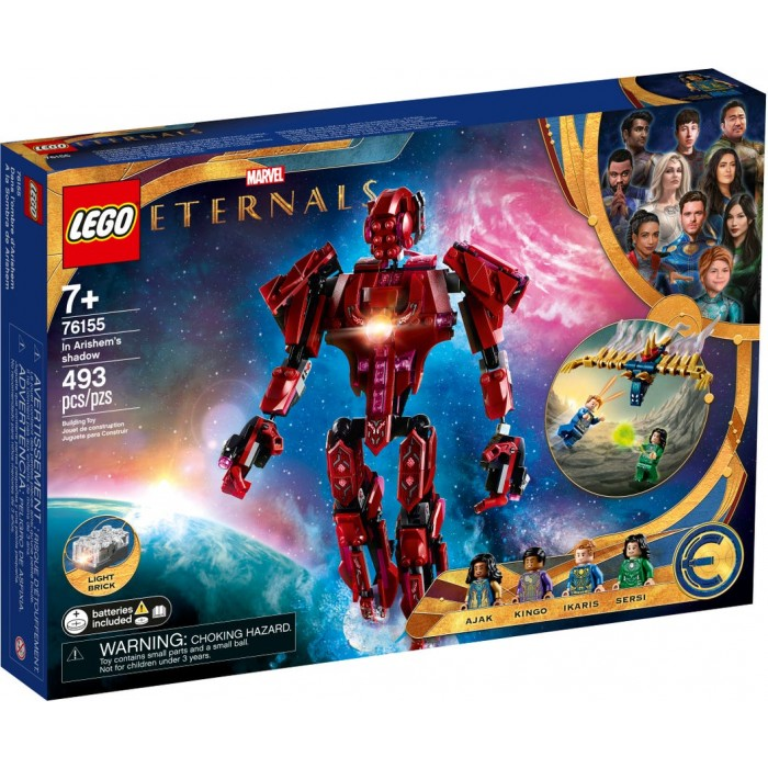 LEGO Marvel : Eternals - Les Éternels Dans l'ombre d'Arishem - 493 pcs